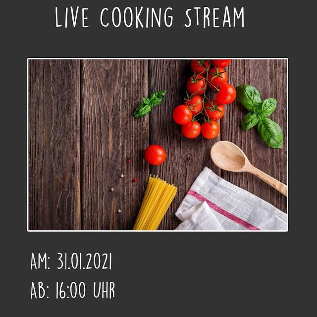 Werbung: Live Cooking Stream